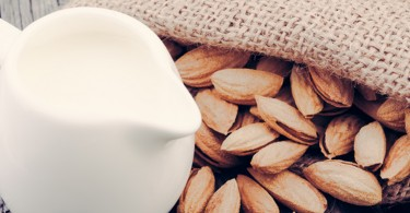 almond milk blog header