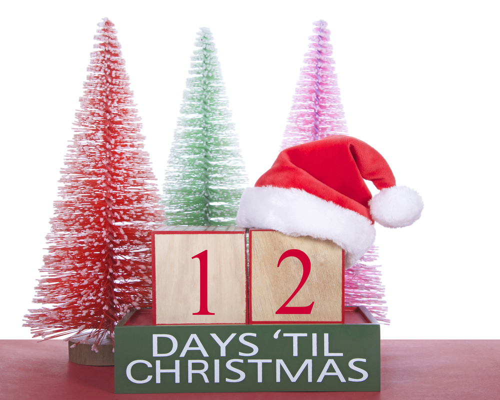 12 shopping days left until christmas shutterstock_345180629 - 12 Days Till Christmas