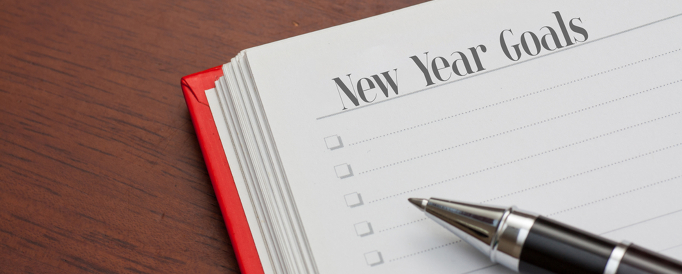New Year's Resolutions blog header image
