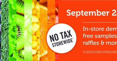 No Tax Storewide!