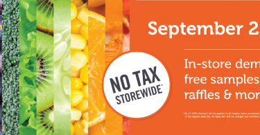 No Tax Storewide