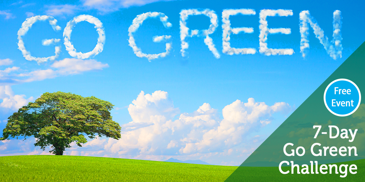 7-Day Go Green Challenge