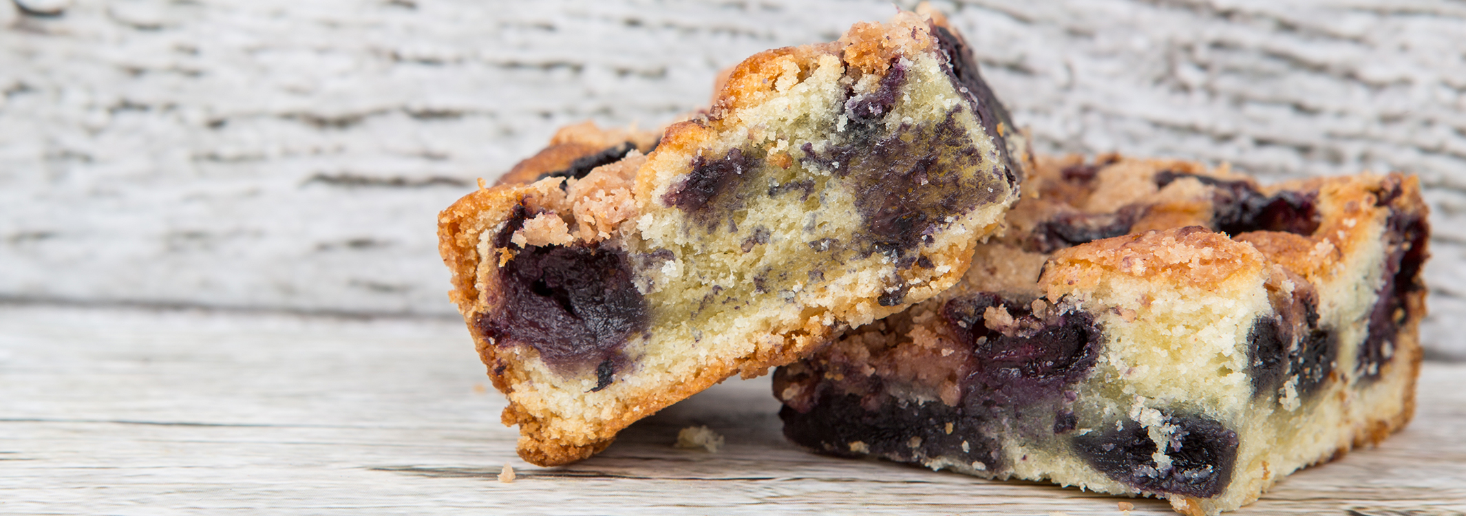 Lemon Blueberry Cake Bars