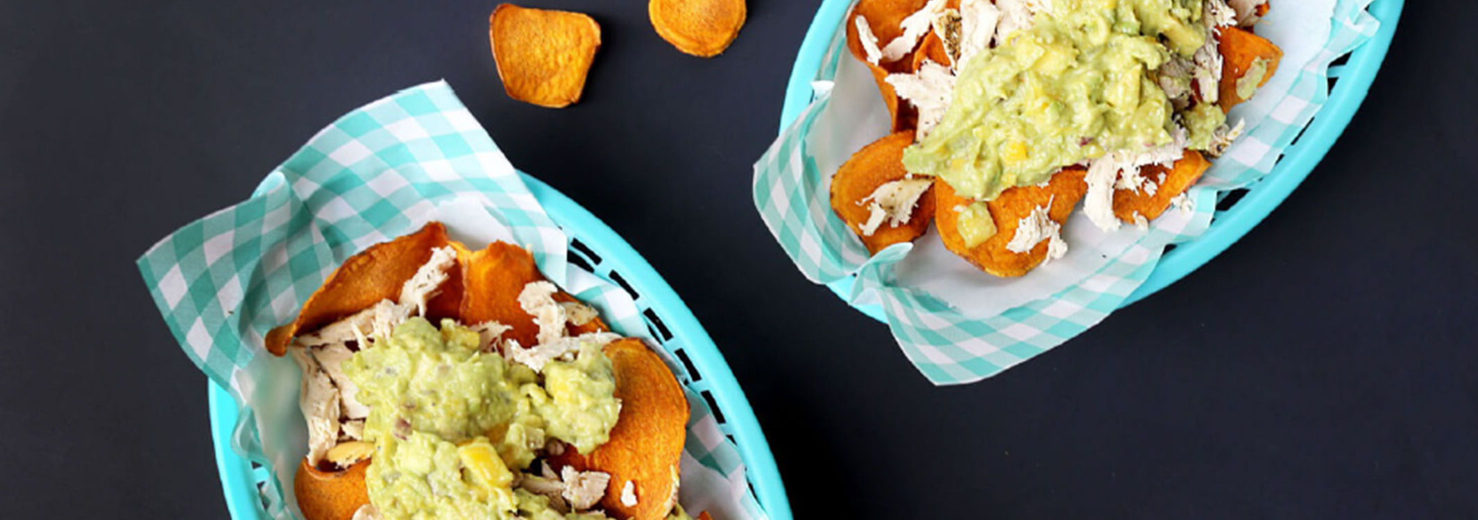 Sweet Potato Nachos Web Banner